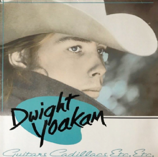 Dwight Yoakam ‎- Guitars, Cadillacs, Etc. Etc. (LP) (EX/VG-)